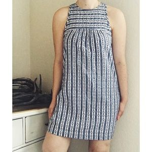 THML Tunic Dress Embroidered Peasant Boho Shift